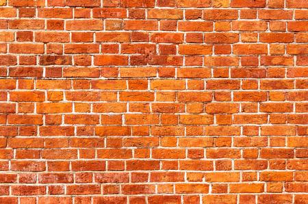 Brick wall as background texture. Bricks masonry