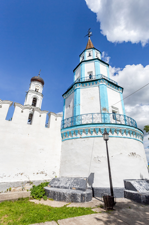 Towers of Raifa Bogoroditsky monastery near the Kazan, Russia