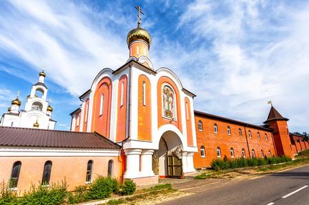 Holy-Varsonofievsky Pokrovo-Selischenskiy nunnery in Mordovia, Russia
