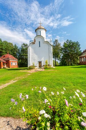 Peryn Church of the Nativity of the Theotokos on Peryn Skete in Veliky Novgorod, Russia