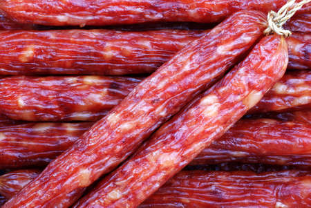 cured: Chinese Cured Sausages