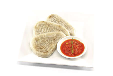 within: Rice Within Rice Dumpling - Traditional Teochew Dumplings Stock Photo
