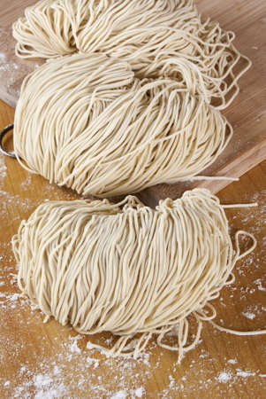 asian noodle: Freshly Made Egg Noodles