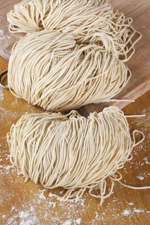 Freshly Made Egg Noodles