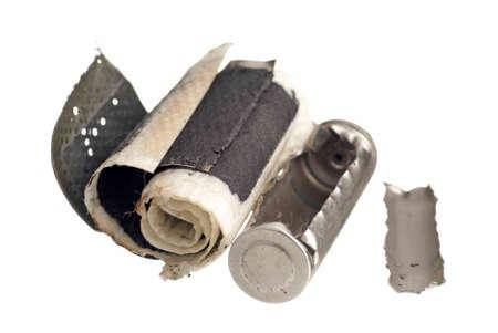 revestimientos: Corte de la imagen de una bater�a recargable AA