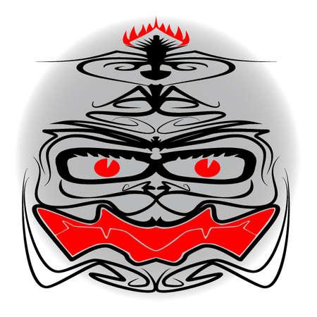 Iban Tribal Mask