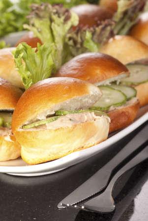Junior Tuna Fish Burgers photo