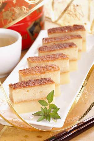 Baked Tapioca Pudding also known as Bingka Ubi Kayu