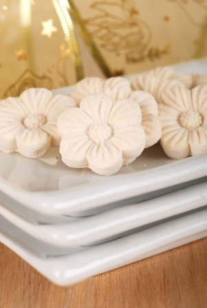 Coconut Cookies or Kuih Bangkit