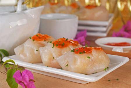 sum: Vegetable Dumpling Dim Sum also known as Chai Kuih
