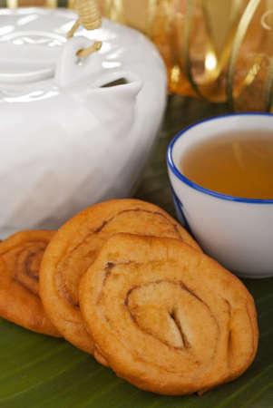 pinwheels: Savory Chinese Fried Crullers