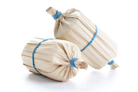 Balachan Wrapped in Dried Naplam Palm Leaves Stock Photo - 14355053