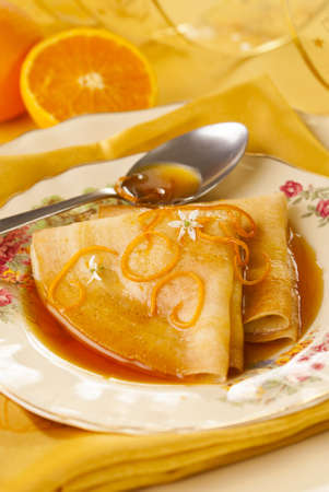 crepe: Crepes Suzette