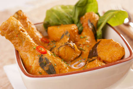 Chicken Curry Banque d'images