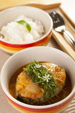 Thai Jungle Fish Fried Curry  photo