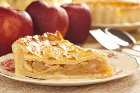 tarta de manzana: Cold Apple Pie