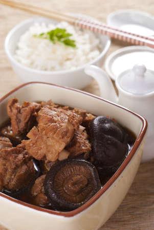 pork rib: Bak Kut Teh