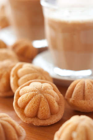 Kuih Bahulu - Malaysian Mini Sponge Cakes Stock Photo - 15746241