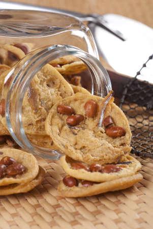 brittle: Asian Peanut Brittle - Popular bar snacks