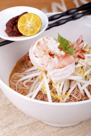 Sarawak Prawn Laksa. Unsharpened file photo