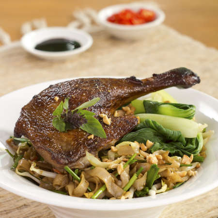 boh: Roast Duck with Kway Teow Patt Thai; unsharpened file