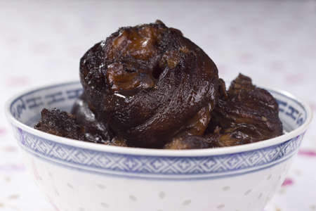 trotters: Braised Pork Trotters in Black Soy Sauce; unsharpened file