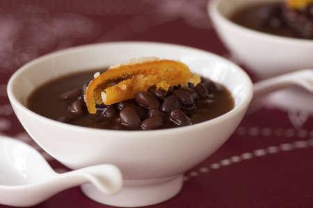 angularis: Azuki Bean Porridge with Candied Orange