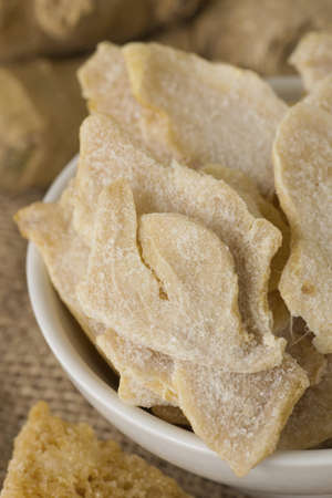 herbology: Candied Ginger Slices; Non sharpened file