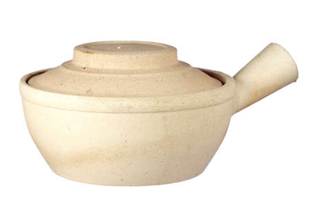 sharpen: Chinese Claypot Non sharpen file Stock Photo