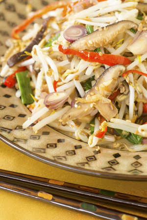 bean sprouts: Stir Fried Mung Bean Sprouts w Dried Shrimps Non sharpen file