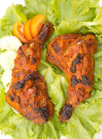 tandoori chicken: Chicken Tikka Non sharpen file Stock Photo