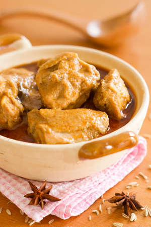 curry chicken: Chicken Curry Non sharpen Stock Photo