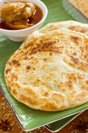 sharpen: Roti Canai Non sharpen Stock Photo