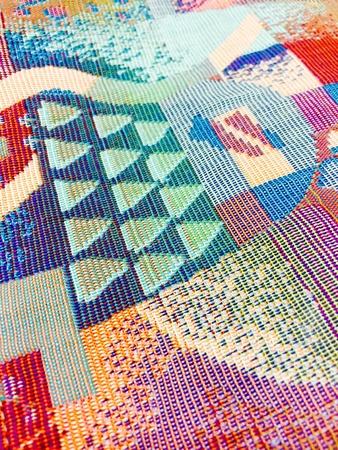 textile: Colorful textile