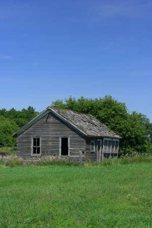 old rural building