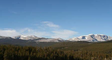 open mountain skies Stok Fotoğraf