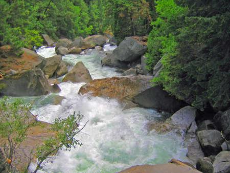rushing green river