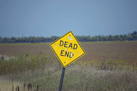 presentiment: dead end sign