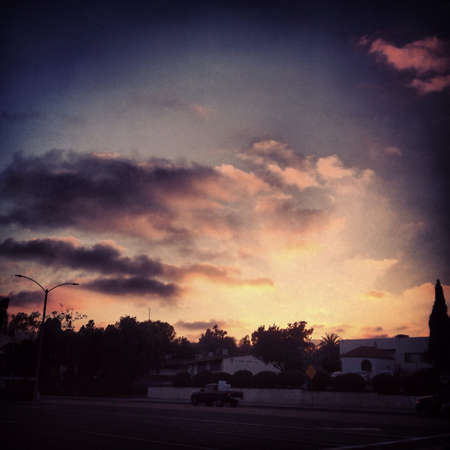 Sunset Banco de Imagens