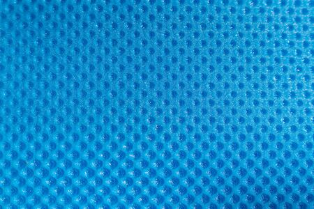 Blue PVC plastic synthetic texture use for background