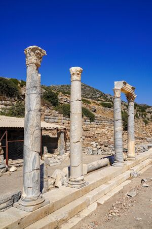 Knidos Ancint City, Mugla, Turkey