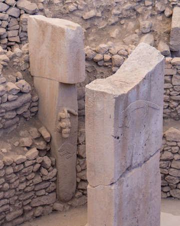 Gobekli Tepe is an archaeological site at the top of a mountain ridge in the Southeastern Anatolia Region of Turkey.