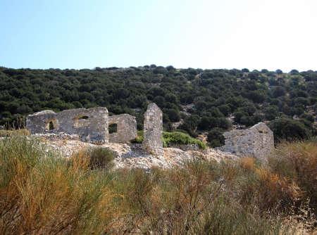 marathi: Greek ruins, Marathi, Paros, Cyclades, Greece