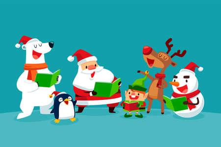 一緒にクリスマスキャロル クリスマス文字歌のセット