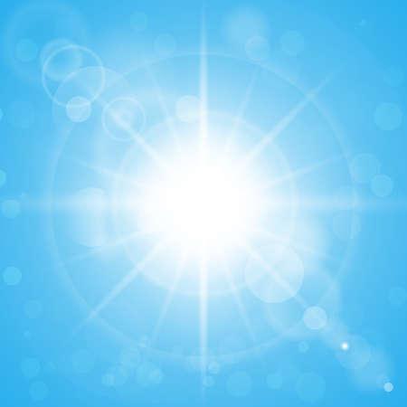 image of sun Ilustrace