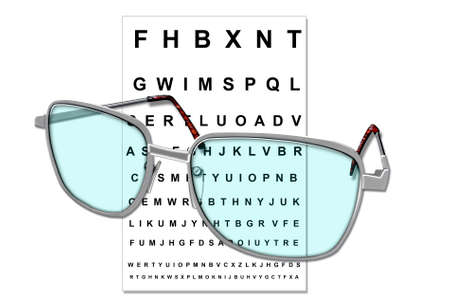 Illustration of trendy eye glasses Stock Illustration - 6504446