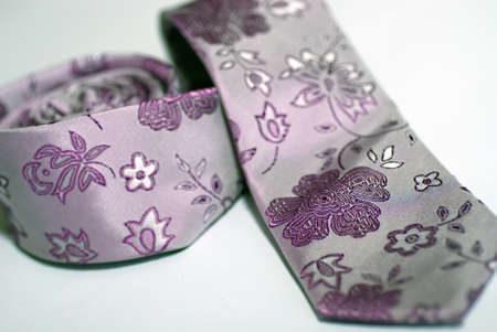 Trendy colorful tie, close-up with very shallow depth of field Stock Photo - 8695674