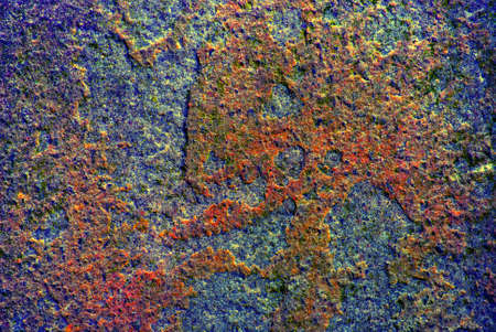 Colorful close up of stone texture, high dynamic range photo Stock Photo - 9289355