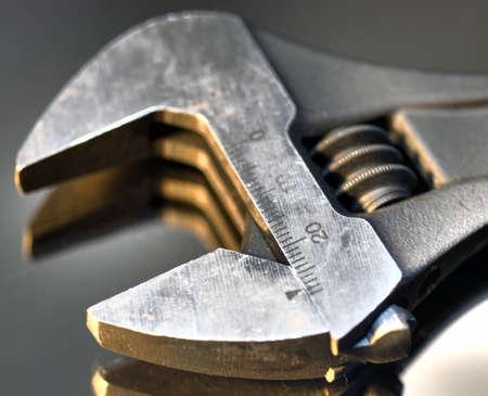 Close-up of monkey wrench, high dynamic range photo Stock Photo - 9289348