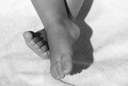 Baby feet photo
